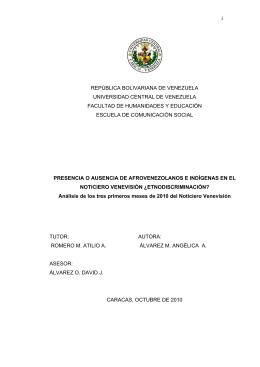 i REPÚBLICA BOLIVARIANA DE VENEZUELA