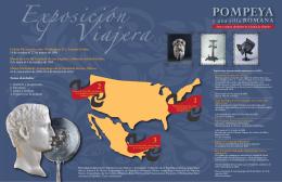 Infografía Pompeya - Instituto Nacional de Antropología e Historia