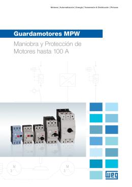 Guardamotores MPW Maniobra y Protección de Motores