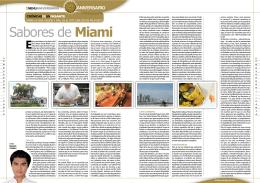 Sabores de Miami