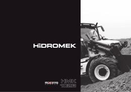 Catálogo retrocargadoras mixtas HMK102B
