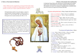 Catequesis 5-5-Virgen María