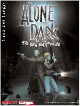 Guia Alone In The Dark - The New Nightmare (Ps2)
