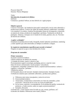 Mundo Belleza - Universidad de Palermo