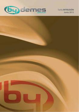 catalogo INTRUSION junio2015