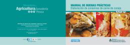 Manual BPM en la Elaboración de Conservas de Carne de Conejo
