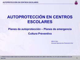 María Vara Moral - Dirección General de Protección Civil y