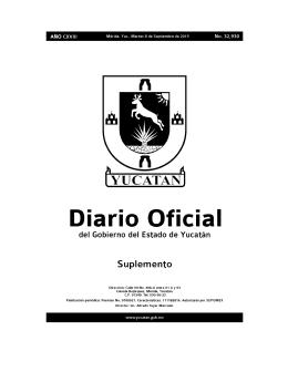 Abrir PDF - Gobierno del Estado de Yucatán