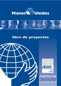 Cubierta Libro proyectos 2006