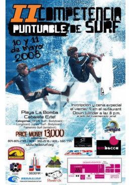 Cabarete Surfing Contest La Bomba Beach
