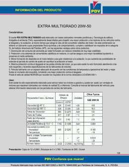 Manual de Productos PDV 2008