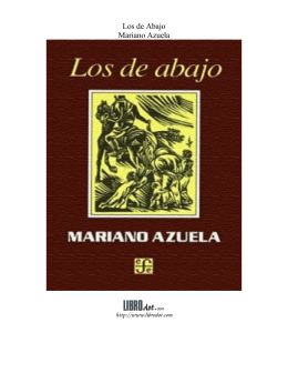 Los de Abajo Mariano Azuela