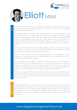 ElliottMoss - Legal Management Forum
