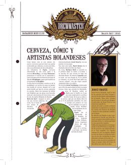 cerveza, cómic y artistas holandeses