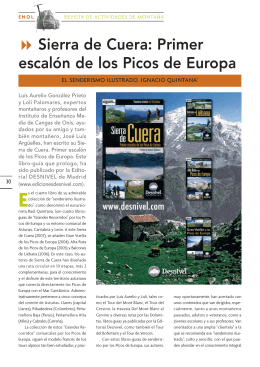 Sierra de Cuera (Ediciones Desnivel)