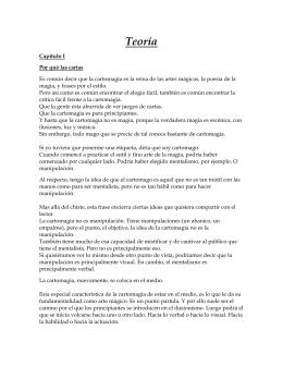 La Presentacin en la Cartomagia II (por Daniel de Urquiza)