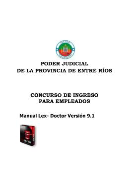 Cuadernillo de estudio del Tema IX (Lex-Doctor)