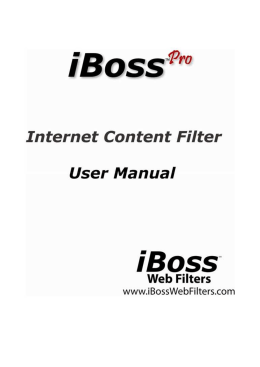 Manual iBoss Pro Español