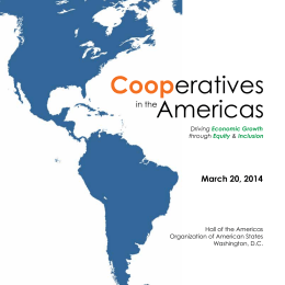 Cooperatives - National Cooperative Business Association