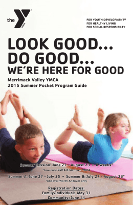 the merrimack valley ymca