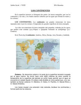 LOS CONTINENTES - Recursos para PCPI