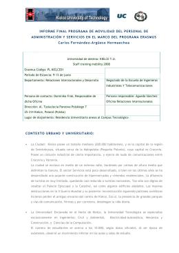 Kielce - Universidad de Cantabria