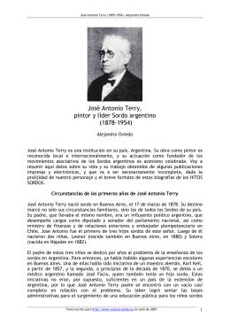 José Antonio Terry (1878-1954)