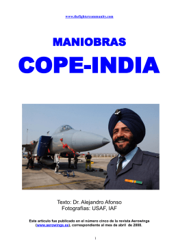 Ejercicios Cope India. - The Fighter Community