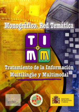 Monográfico. Red Temática