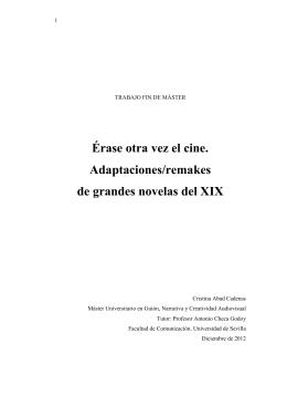 TFM Cristina Abad Máster de Guión diciembre 2012 Universidad de