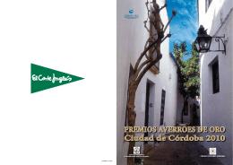 PREMIOS AVERROES DE ORO Ciudad de Córdoba 2010