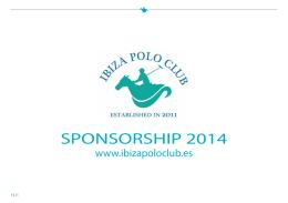 SPONSORSHIP 2014 - Ibiza Polo Club
