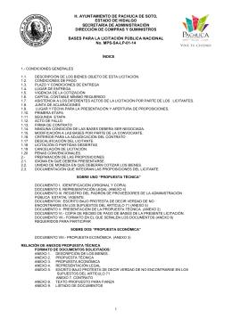 documento - H. Ayuntamiento de Pachuca