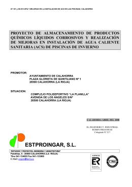 MATERIALES (Presupuesto) - Ayuntamiento de Calahorra
