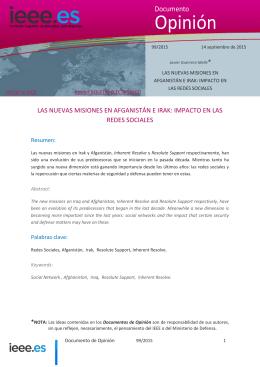Nuevas Misiones en Afganistán e Irak: Impacto en las RRSS