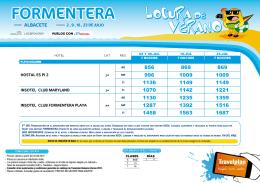 oferta formentera vuelo+hotel - SPL-CLM