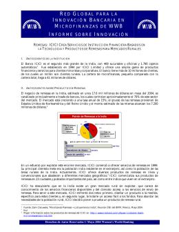 red global para la innovación bancaria en microfinanzas de wwb