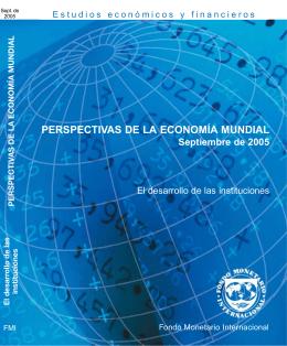 Perspectivas de la Economía Mundial -- Septiembre de 2005