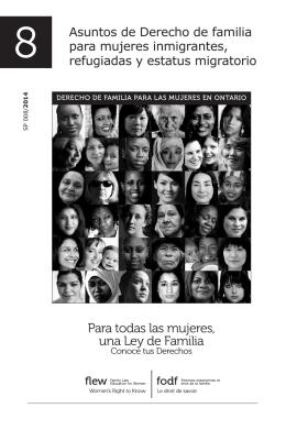 Para todas las mujeres, una Ley de Familia