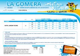 LA GOMERA LOCURA DE