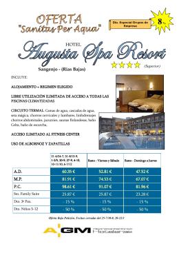 Spa Resort. SanXenxo