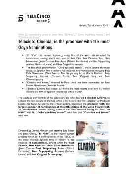 Nominaciones telecincocinema premios goya_ENG