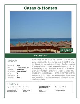 Imprimir en PDF - Casas