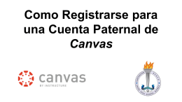 How to Sign Up for a Parent Canvas Account