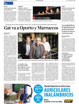 Gat va a Oporto y Marruecos - ESCI-upf