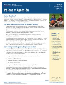 Peleas y Agresión