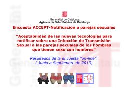 Encuesta ACCEPT-Notificación a parejas sexuales