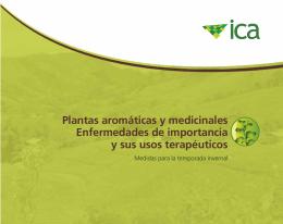 Plantas aromáticas y medicinales Enfermedades de importancia y