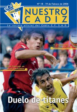 Nº 18 - Cádiz CF