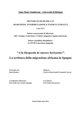 Documento PDF - AMS Tesi di Dottorato